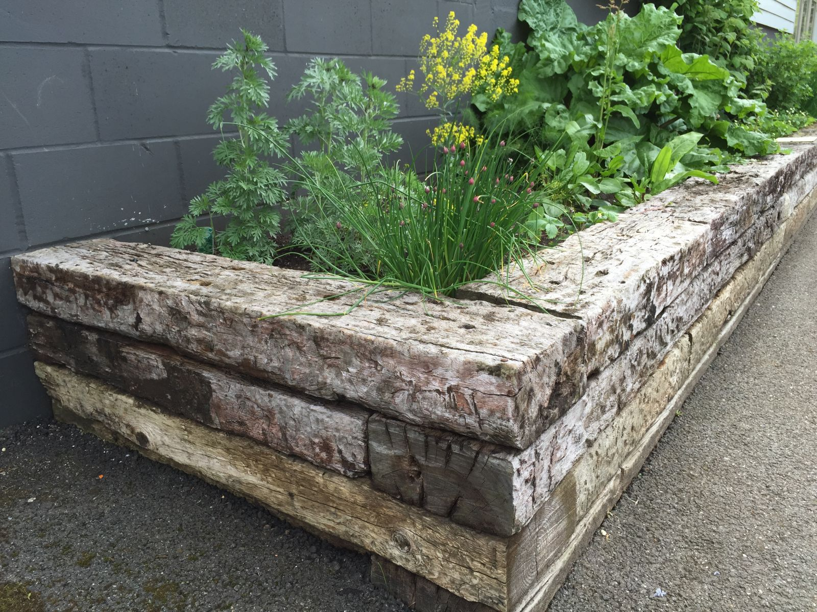 How To Build With Railway Sleepers