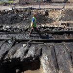 200 year old railway sleepers discovered!