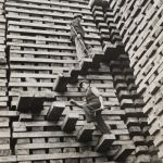 Amazing photo of railway sleepers from the past