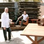Railway sleeper furniture company