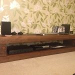 CHUNKY RAILWAY SLEEPER HI-FI TABLE