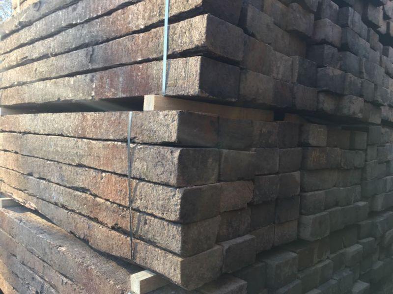 Used Azobe Grade 1 Railway Sleepers