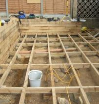 Pine Decking Supports