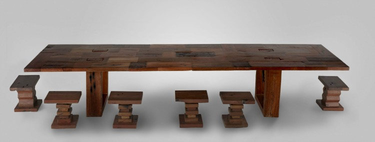 From Railway Sleepers To Art Furniture