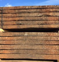 Used Dutch Oak grade 1 railway sleepers