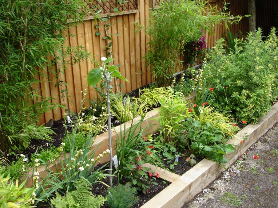 how to fix railway sleepers to the ground