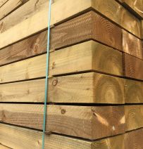 New British Pine Eco Friendly Railway Sleepers