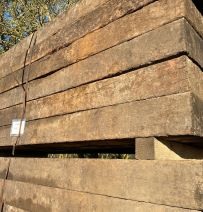 Used Relay Hardwood top grade tropical railway sleepers