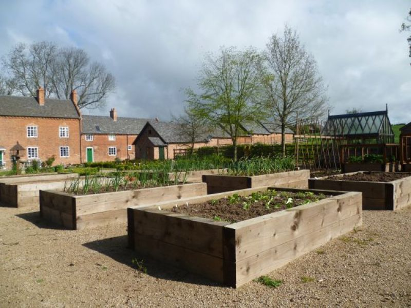 ... Raised Bed KITS With Railway Sleepers ...
