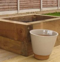 Raised Bed KITS with railway sleepers