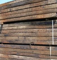 Used British Pine grade 1 railway sleepers