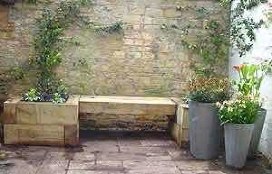 bbcs gardeners world project with railway sleepers - Garden Design Using Railway Sleepers