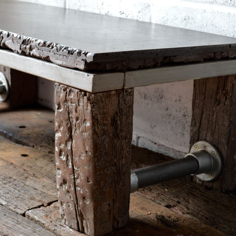 Jarrah Industrial Railway Sleeper Table