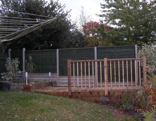 Bob Tanner's decking project