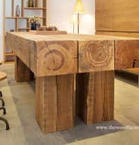Chunky new oak furniture from Vietnam