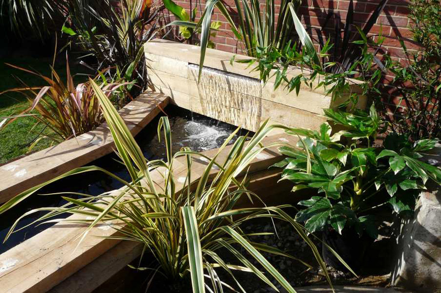 garden design using railway sleepers - Garden Design Using Railway Sleepers