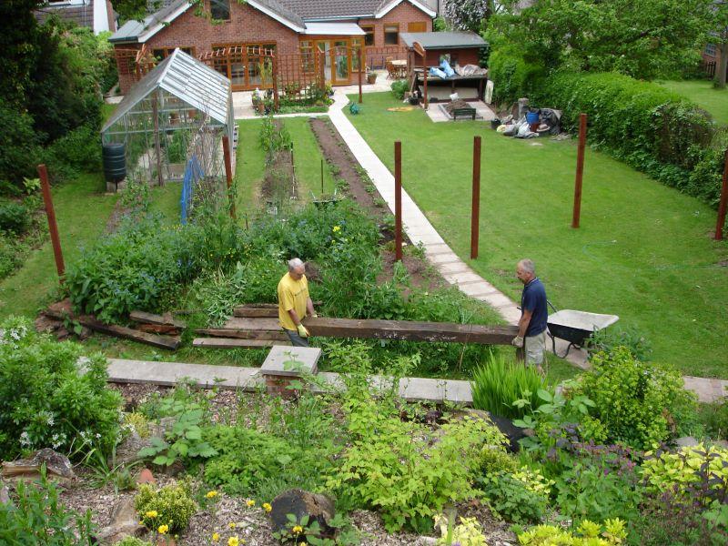 Timber Garden Edging Ideas