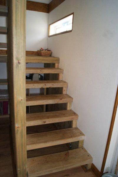 Stairs Made Of Railway Sleepers