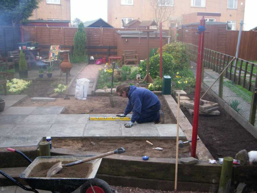 dave barclayu0027s landscaping used with railway sleepers - Garden Ideas Using Sleepers