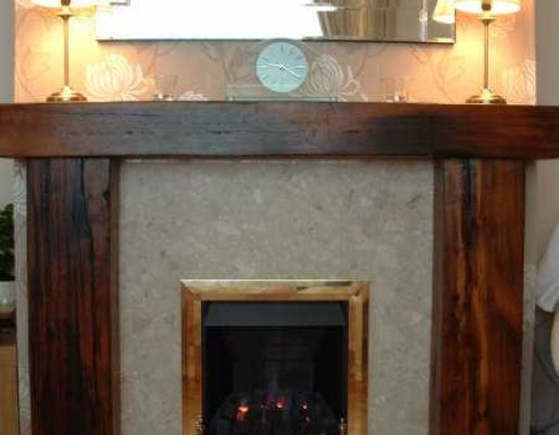 Fireplace Surrounds Amp Lintels From Railway Sleepers