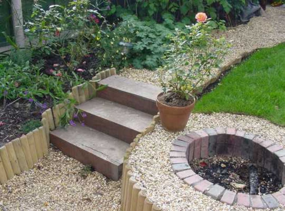 wooden sleepers for gardens 3