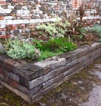 Castle Rising raised beds