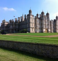 Burghley House Horse Trials with Railway Sleepers