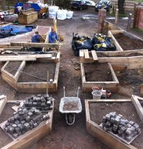 Kilgraney Garden Part 1 - A railway sleeper design from scratch