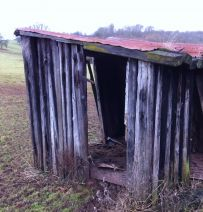 Railway sleeper 'Palace'.  Fit for a king in hiding!!