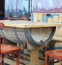 Barrel furniture
