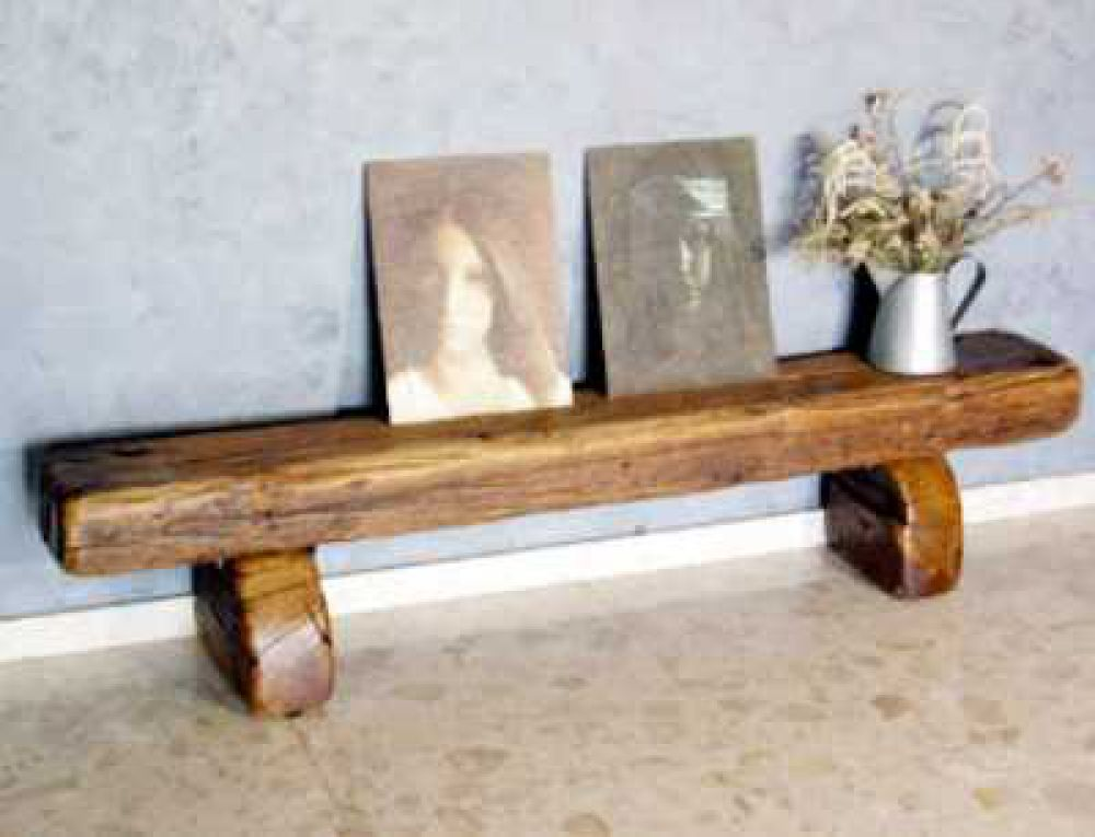 Tables Made From New Used Railway Sleepers Inspiration Railway Sleeper Floating Shelves