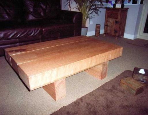 James Anderson's karri railway sleeper table