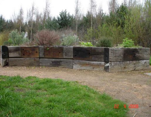 Railway sleepers everywhere - a collection of photos