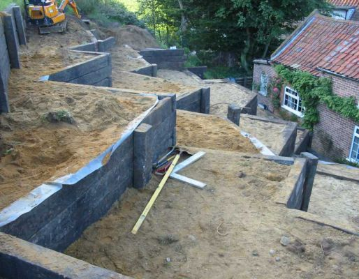 Kings Landscaping's epic railway sleeper project