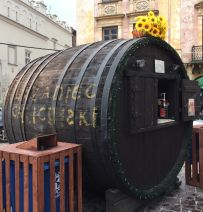 Krakow barrel buildings