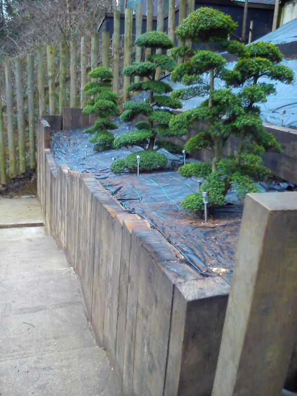 Retaining Walls On A Slope