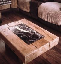 Natur Furniture's railway sleeper tables