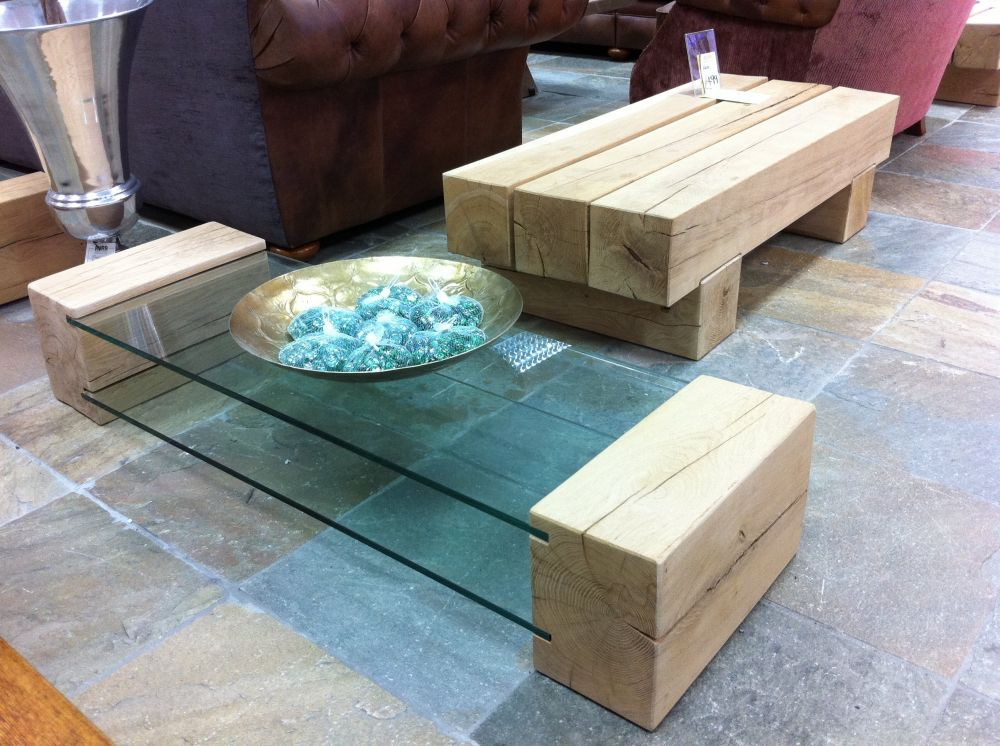 Classic Coffee Table From New Oak Railway