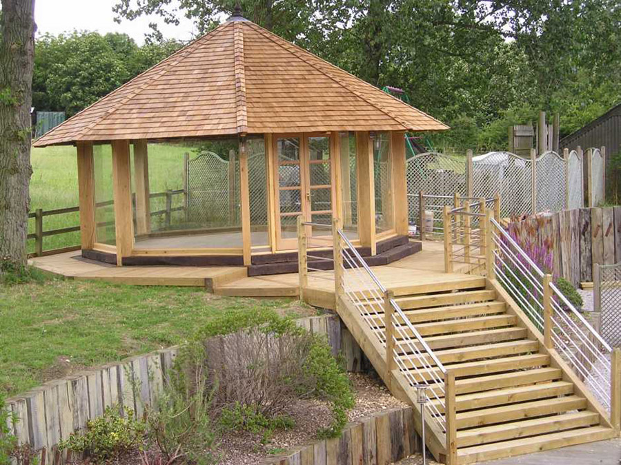 Garden designs with railway sleepers image mag for Garden designs with railway sleepers