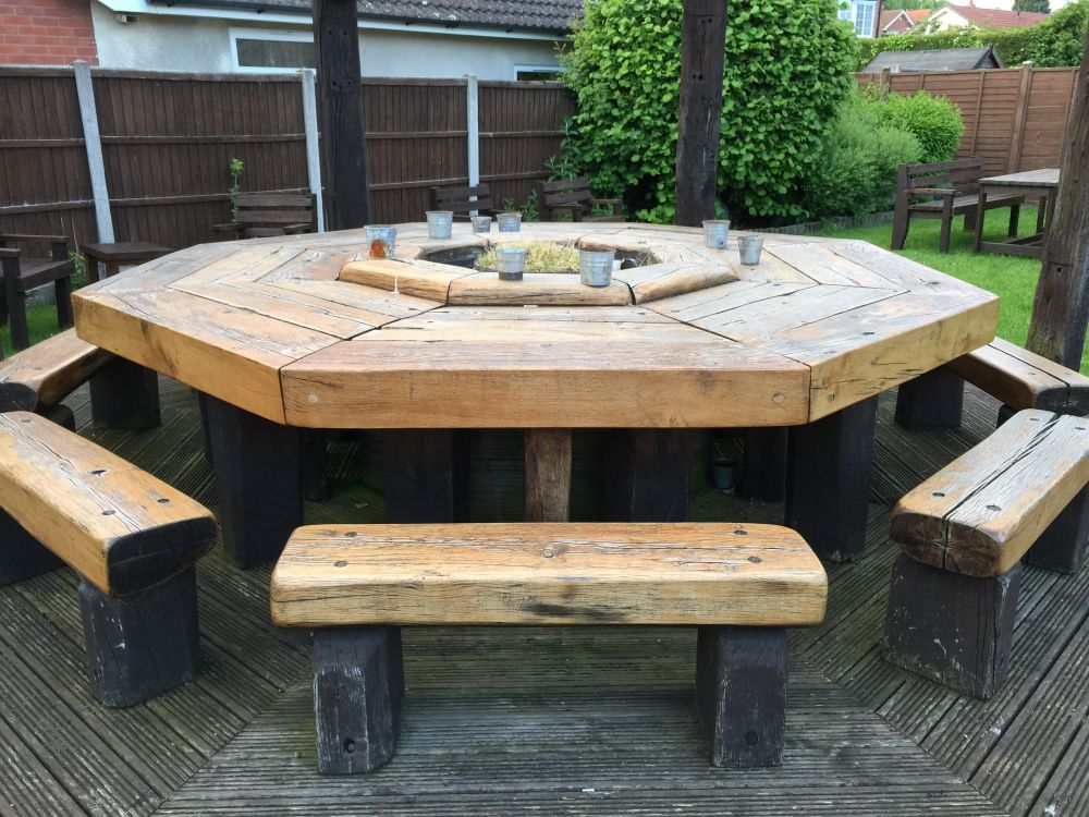 Garden Furniture Made From Railway Sleepers Garden Ftempo