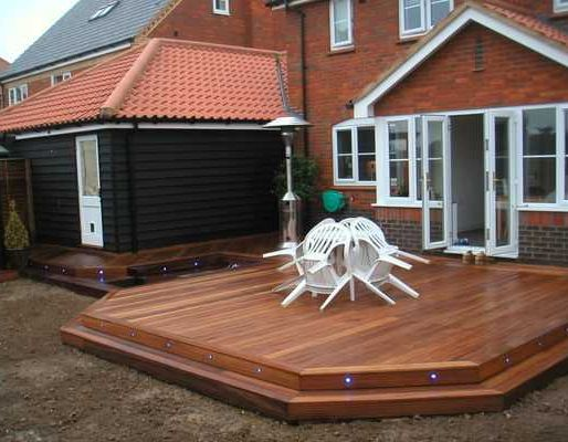 Paul Hayman's decking project