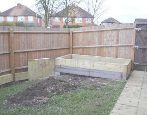 Paul Pym's garden transformation with railway sleepers