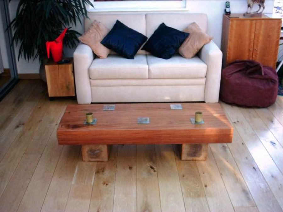how to make a table out of sleepers