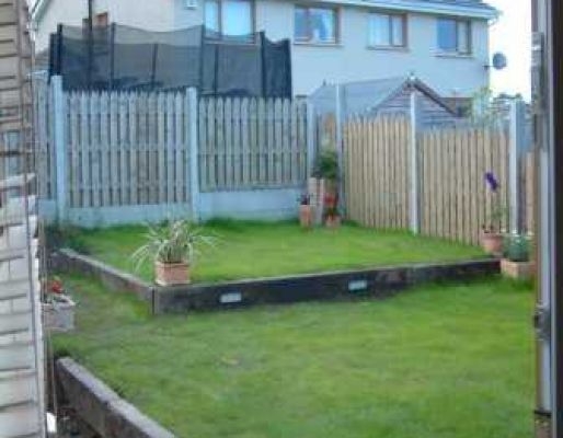 Phil & Fiona's Irish railway sleeper landscaping- by hand!