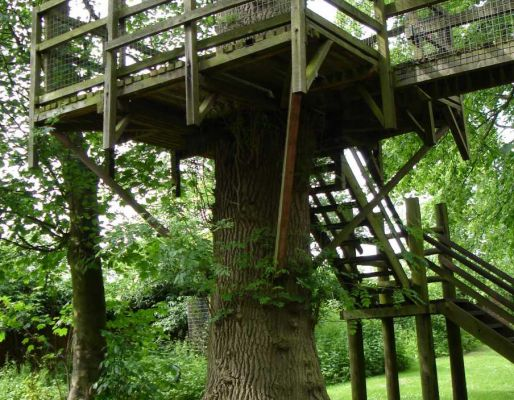 Belton Hall's magical tree houses