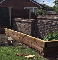 Scott Sheppard's raised beds