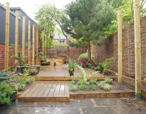 SIL Landscape's three projects with railway sleepers