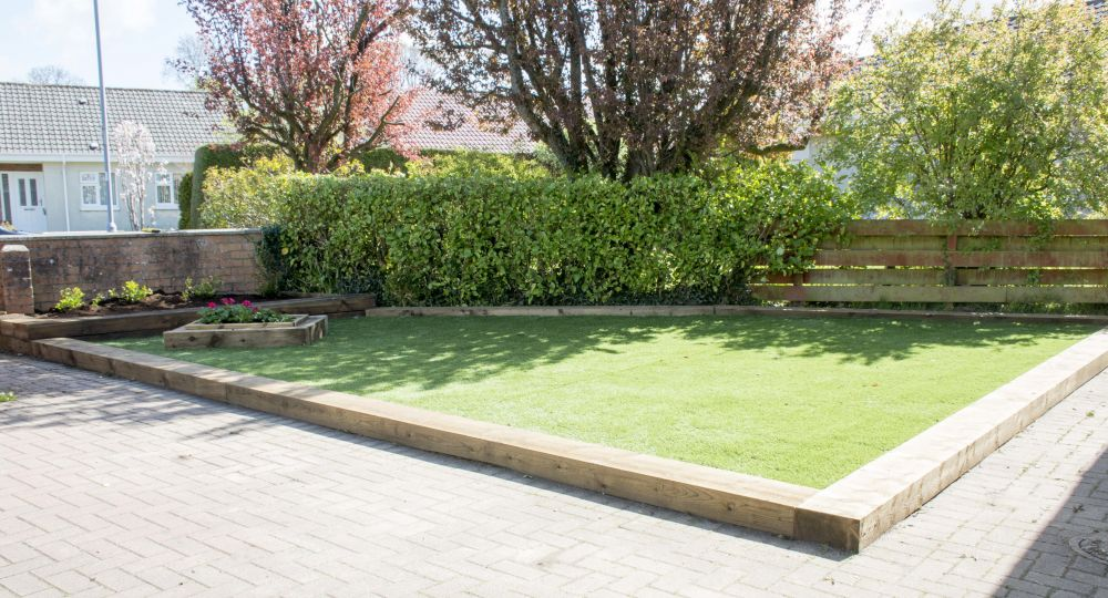 Edging for gardens 1000 1000 ideas about garden edging on for Garden design using railway sleepers