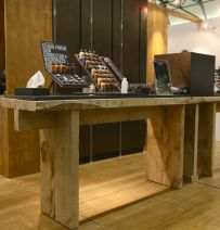 Exhibition Stand From New Oak Railway Sleepers