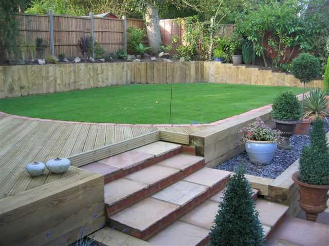 stuart watsons epic transformation with railway sleepers